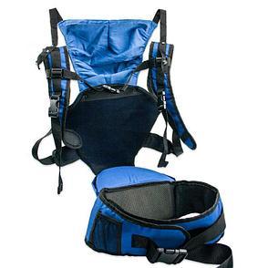 Рюкзак-кенгуру для переноски детей, цвет синий, фото 2