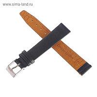 Ремешок для часов, мужской, 16 мм, коричневый
