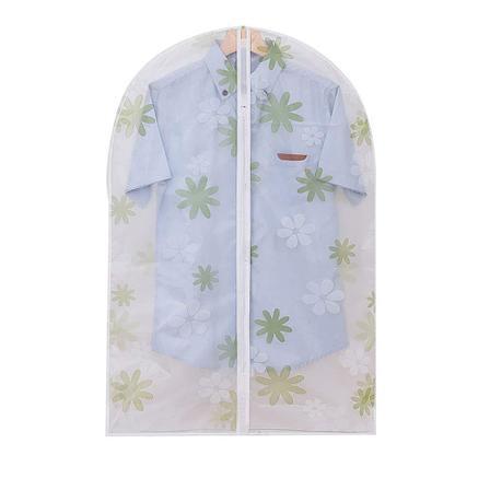 Подвесной чехол на молнии для хранения одежды прозрачный, фото 2