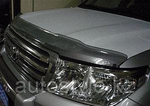 Дефлектор капота Toyota LandCruiser-200 Airplex Carbon
