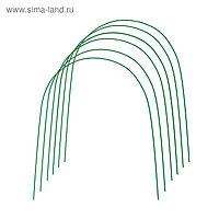 Комплект дуг для парника, металл в кембрике 3 м, d = 10 мм, набор 6 шт