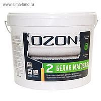Краска интерьерная OZON-2 ВД-АК 222АМ акрилатно-латексная, база А 9 л (14 кг)