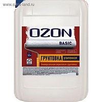 Грунтовка универсальная OZON ВД-АК 012М глубокого проникновения, акриловая 1 л