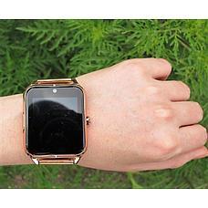 Умные часы GT08, цвет золотистый, фото 3