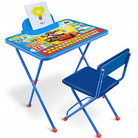 Детский комплект стол-стул Ника Disney 1П Д1П/Т DISNEY Тачки