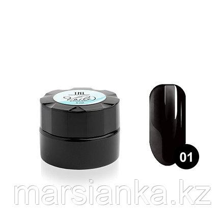 Гель-краска для тонких линий TNL Voile #1 паутинка (черная), 6мл