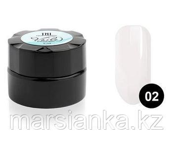 Гель-краска для тонких линий TNL Voile #2 паутинка (белая), 6мл