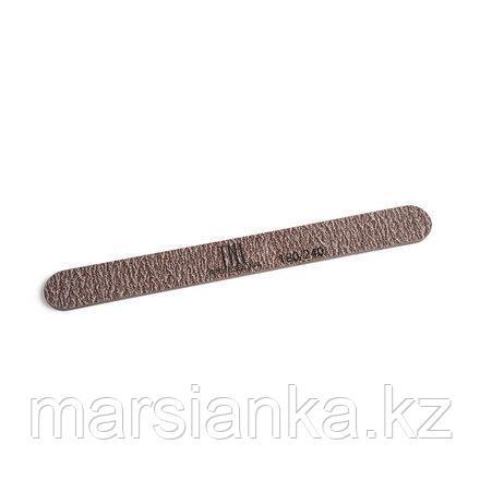 """Пилка для ногтей """"узкая"""" 180/240 TNL, коричневая в уп. пластик основа, фото 2"""