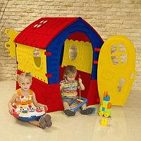 Детский игровой домик Лилипут Palplay красный/желтый