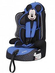 "Автокресло SIGER ""Драйв"" серия Disney Микки Маус контур синий, гр.1/2/3, 9-36 кг"