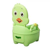 Детский горшок ЦЫПЛЕНОК Зеленый (Pituso, Испания)