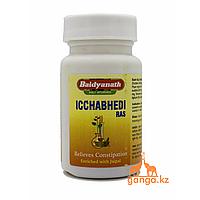 Ичхабеди рас - слабительное для очистки организма (Ichchhabhedi ras BAIDYANATH), 40 таб. (10 гр)