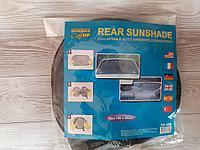 Солнцезащитная сладная шторка для автомобиля для заднего стекла, 50х100