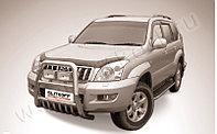 Кенгурятник d76 высокий Toyota Land Cruiser Prado 120 2003-09
