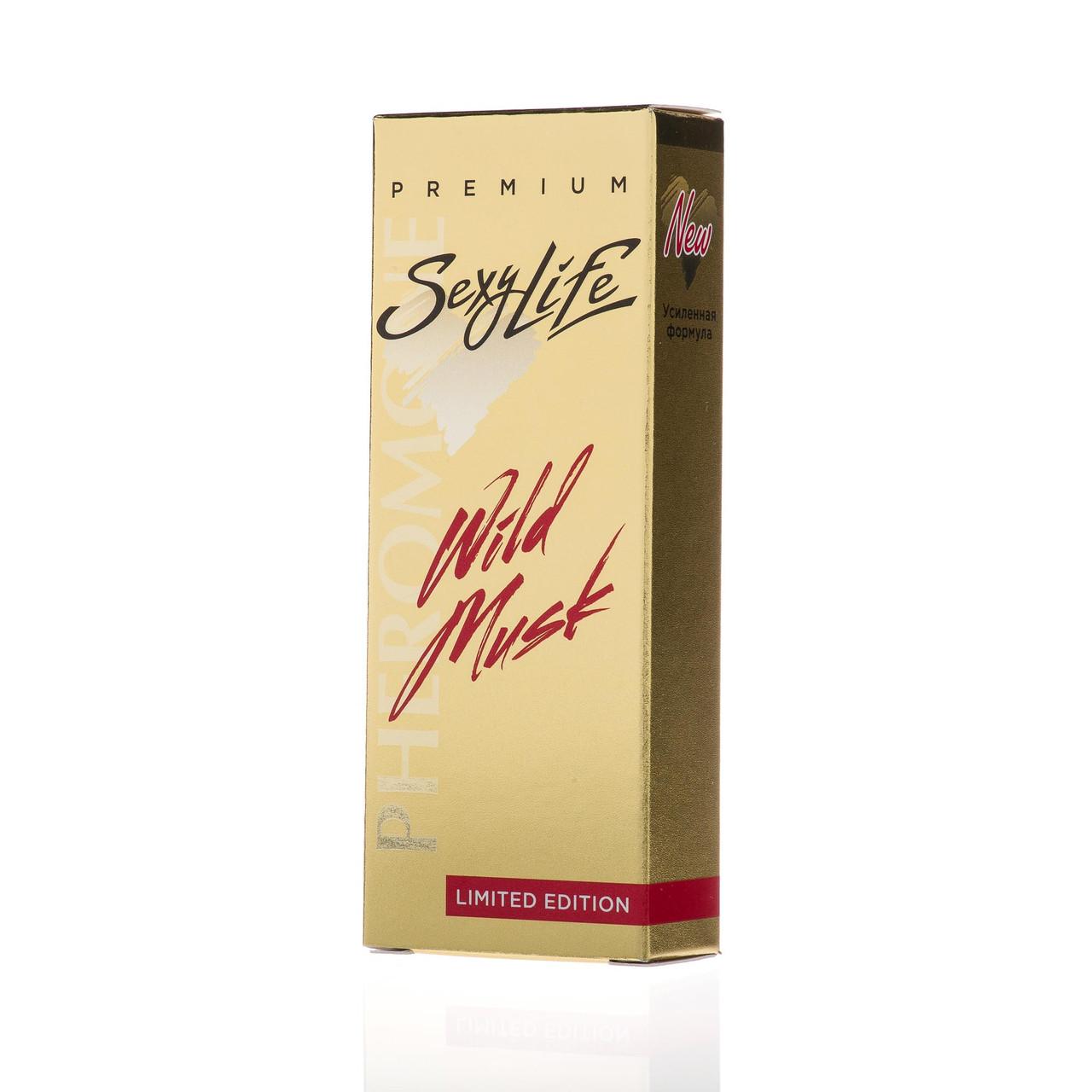 "Женские духи ""SexyLife"" - ""Wild Musk"" №11 - GREED AVENTUS, 10мл"