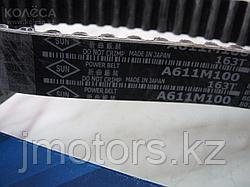 Ремень ГРМ на двигатель 4D56 квадратный зуб MD134377