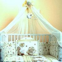 Комплект в кроватку Балу Загадка салатовый 7 пр, фото 1