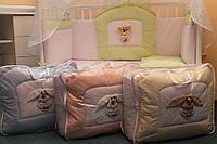 Комплект в кроватку Балу Любимчик кремовый(желтый) 7пр., фото 1