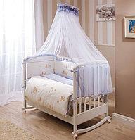 Постельное белье Perina Тиффани Неженка Молочный/голубой 7пр., фото 1