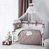 Постельное белье Perina Бамбино 6 предметов Капучино ББ6-01.5
