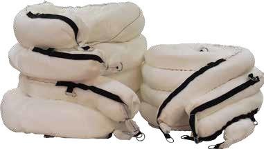 Боновые заграждения ХТ для аварийных разливов на суши и в воде OilOnly