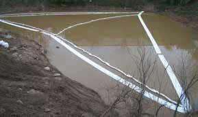 Ленточные заграждения для аварийных разливов на воде OilOnly