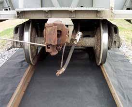 Маты 3х слойные для локализации и ликвидации утечек нефтепродуктов на ж/д путях