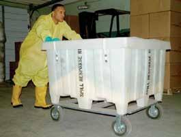 Мобильные наборы ЛАРН / Spill Kit Large - 644L для ликвидации аварийных разливов нефтепродуктов