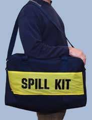 Набор  SPILL KIT в сумке с виниловым покрытием, впитывает до 22L/6Gal масла