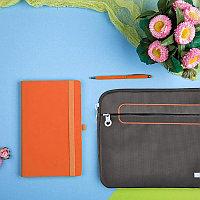 Набор подарочный LEVEL UP: бизнес-блокнот, ручка, чехол для планшета, Оранжевый, -, 35007 05