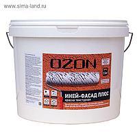 """Краска текстурная OZON """"Иней-фасад SILIKON"""" ВД-АК 163(6)М акриловая 6 кг"""