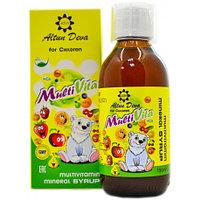 Мультивитаминный сироп для детей МультиВита AltunDeva 150 мл AltunDeva Турция