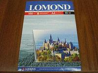 0708411 Lomond 10л.A4 пленка прозрачная для цветной печати водными чернилами ((односторон.полиэстер 100мкр)