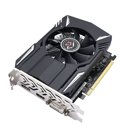 Видеокарта ASRock RX 560 Phantom Gaming Radeon RX560, 2 GB SVGA PCI Express, 2G, DVI/HDMI/DP, GDDR5/128bit