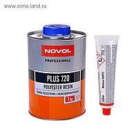 Полиэфирная смола Novol plus 720 1 кг + отвердитель 50 г