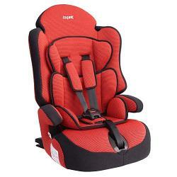"""Детское автомобильное кресло SIGER """"Прайм ISOFIX"""" красный, 1-12 лет, 9-36 кг, группа 1/2/3"""
