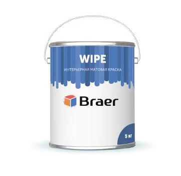 Краска супербелая Braer Wipe