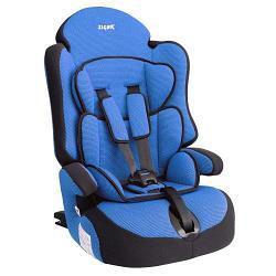 """Детское автомобильное кресло SIGER """"Прайм ISOFIX"""" синий, 1-12 лет, 9-36 кг, группа 1/2/3"""