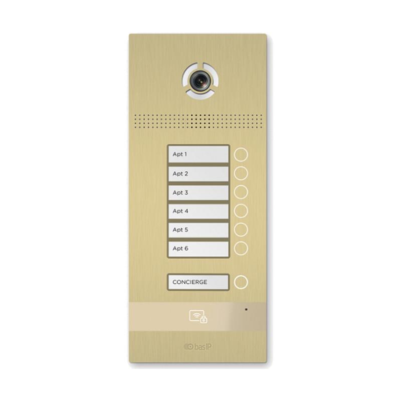 Вызывная панель на 6 абонентов BI-06FB GOLD