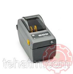 "Термопринтер Zebra ZD410; 2"", 300 dpi, EU and UK Cords, USB, USB Host, BTLE, EZPL {ZD41023-D0EM00EZ}"