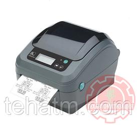 Термопринтер Zebra GX420d; 203dpi, USB, Serial, Centronics Parallel {GX42-202520-000}