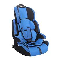 """Детское автомобильное кресло SIGER """"Стар ISOFIX"""" синий, 1-12 лет, 9-36 кг, группа 1/2/3"""