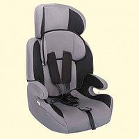 """Детское автомобильное кресло ZLATEK """"Fregat"""" серый, 1-12 лет, 9-36 кг, группа 1/2/3"""