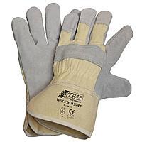 Перчатки спилковые NITRAS SPLIT STAR 1