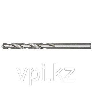 Сверло по металлу, быстрорежущая сталь HSS, полированное, 5мм, Matrix