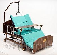 МЕТ REMEKS XL Медицинская кровать для ухода за лежачими больными с переворотом и туалетом, фото 2