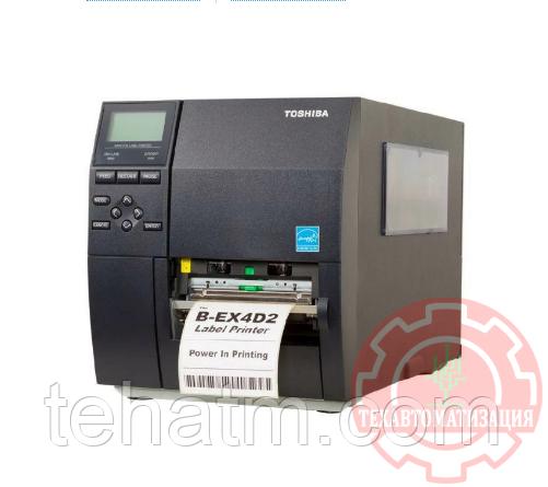 Термопринтер Toshiba B-EX4D2, 203 dpi, USB, LAN (B-EX4D2-GS12-QM-R) {18221168781}