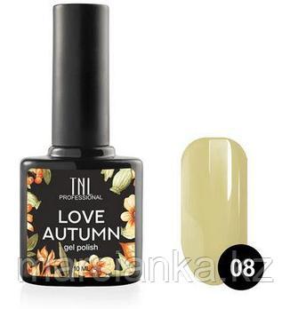 Гель-лак TNL Love Autumn #08, 10мл