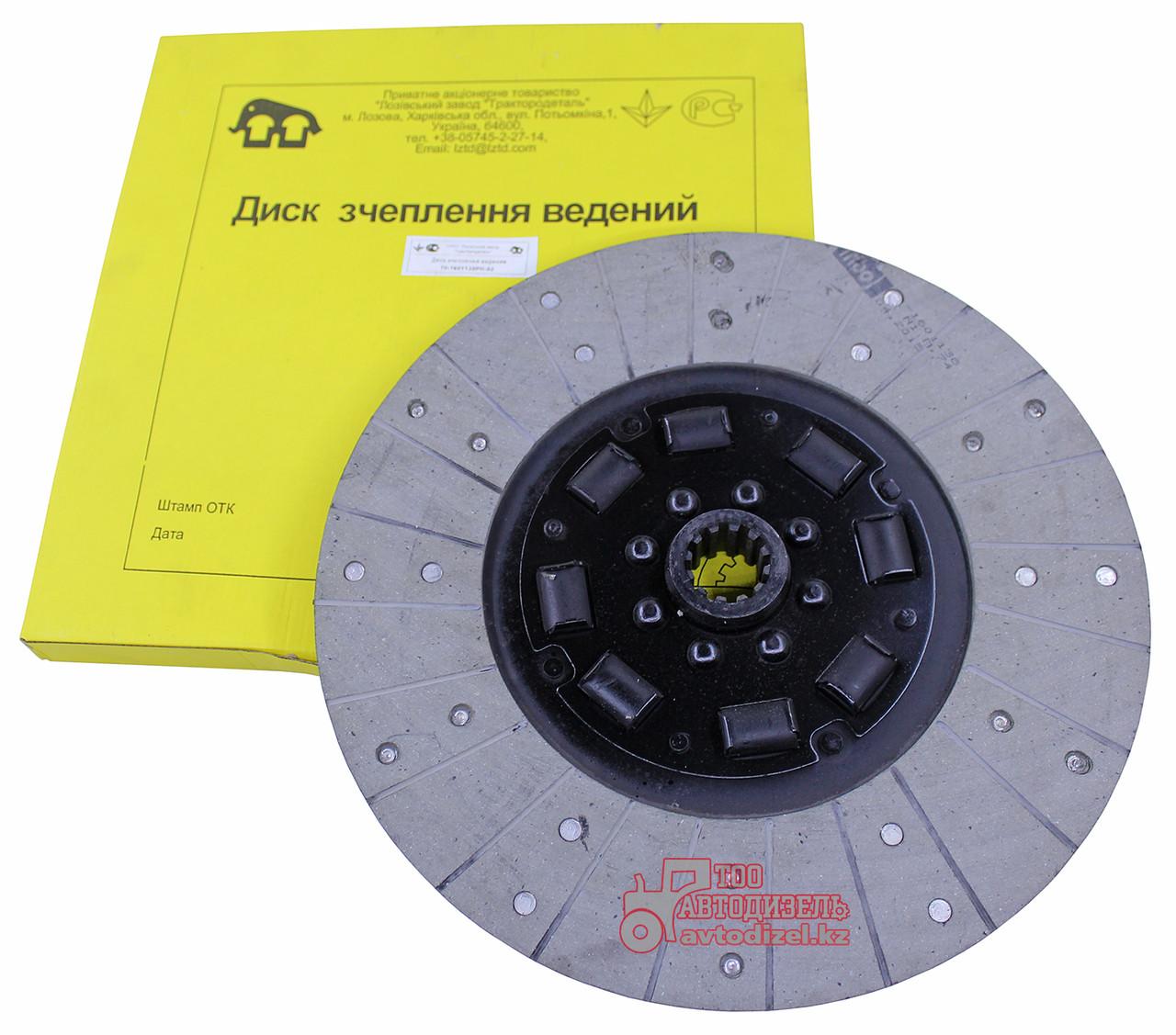 Диск сцепления 70-1601130РН-02 (резинки) МТЗ Лозов