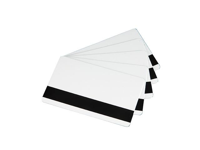 Evolis C4003 Карты PVC с магнитной полосой HICO, 0.76мм, 5х100 шт